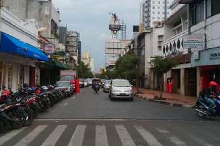 Jalan Braga, Bandung, Jawa Barat. Di Jalan ini, Braga Culinary Night akan digelar setiap Sabtu malam, mulai Sabtu (11/1/2014).
