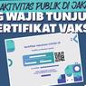 Masuk Mal Harus Scan QR Code, Perlukah Mencetak Kartu Vaksin?