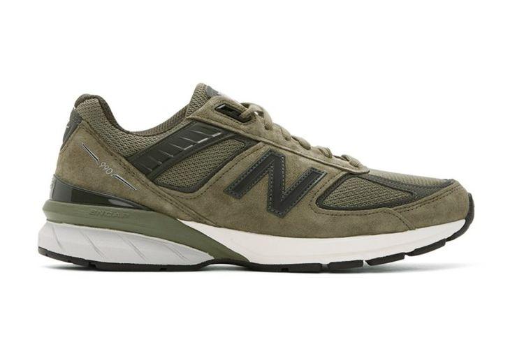 New Balance 990v5 Made in USA Covert Green