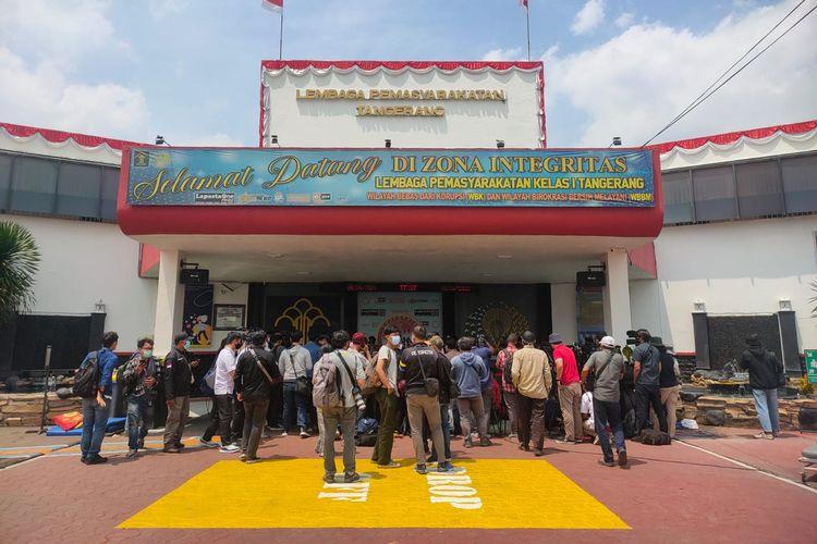 Suasana Lapas Kelas I Tangerang beberapa jam usai terjadi kebakaran yang terjadi pada Rabu (8/9/2021) dini hari.