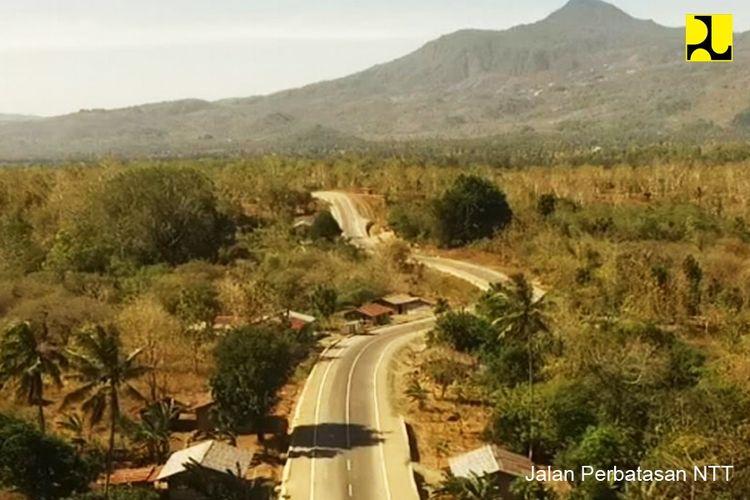 Jalan perbatasan NTT