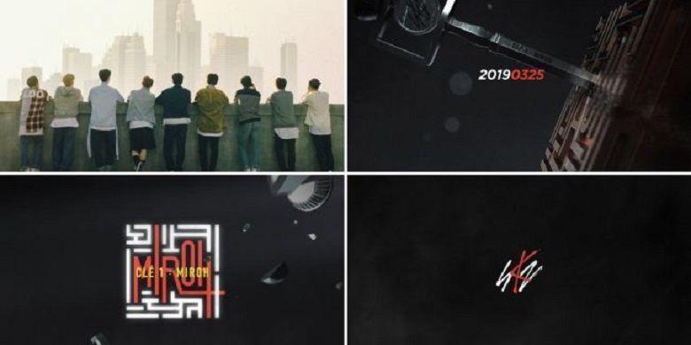 Cuplikan album mini baru dari boyband Stray Kids.