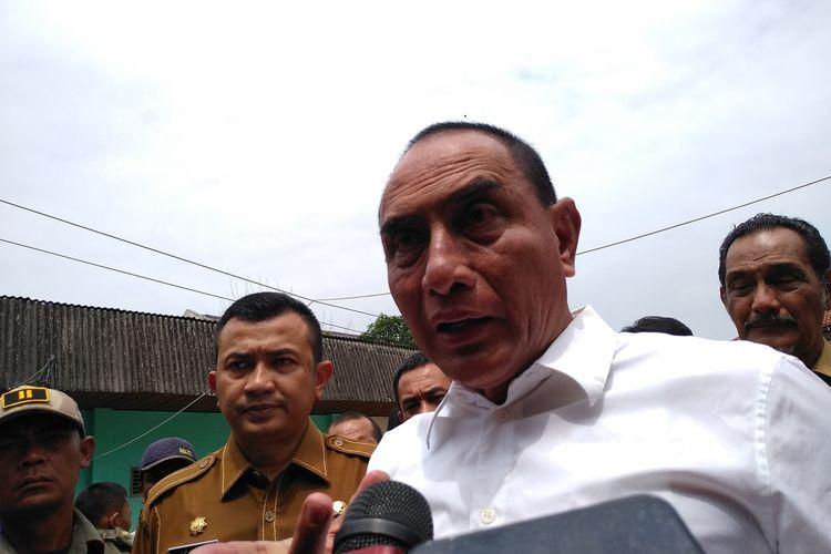 Gubernur Sumatera Utara Edy Rahmayadi menyebut ada warga Sumatera Utara yang berada di Wuhan, Cina. Namun demikian, pihaknya masih melakukan pendataan dan belum mengetahui jumlah pastinya.