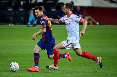Hasil Barcelona Vs Sevilla, Debut Sergino Dest bersama El Barca Berakhir Imbang