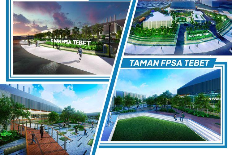 Perumda Sarana Jaya akan melaksanakan pembangunan Fasilitas Pengolahan Sampah Antara (FPSA) Tebet