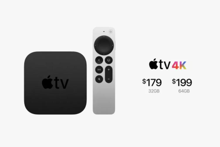 Apple luncurkan Apple TV 4K beserta remote berbahan alumunium.