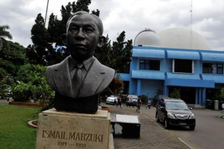 Taman Ismail Marzuki diabadikan pada tahun 2015.