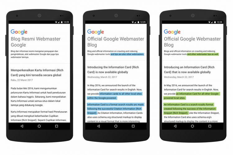 Google Translate untuk Bahasa Indonesia semakin canggih dengan teknologi NMT