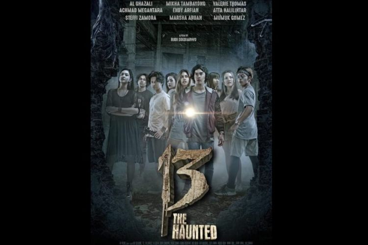 Film horor 13: The Haunted (2018) arahan sutradara Rudi Soedjarwo.