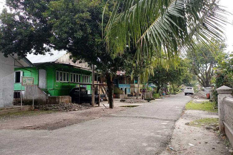 Kampung adat di Pesisir Barat yang dijadikan sebagai lokasi syuting film Sekhdam.