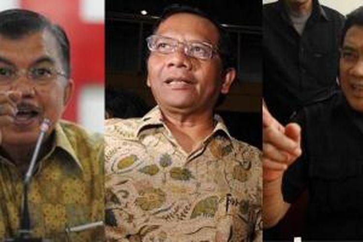 Jusuf Kalla, Mahfud MD, dan Rhoma Irama