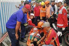 Terperosok ke Dalam Sungai, Kakak Beradik di Bogor Terluka