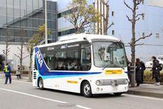 Bus Hino Swakemudi Siap Beroperasi di Bandara Tokyo