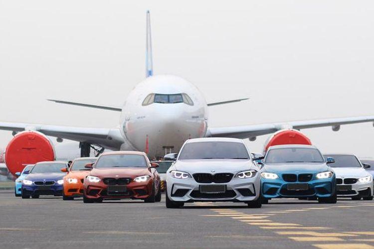 Komunitas BMW MOCI ramaikan peluncuran armada baru Garuda, Airbus A330-900 Neo.