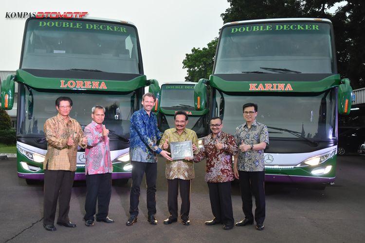 Intip Kemewahan Bus Tingkat Lorena Seharga Rp 3 4 Miliar