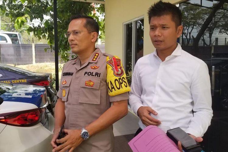 Kapolresta Bandara Soekarno Hatta Kombes Victor Togi Tambunan di Kantornya, Rabu (17/7/2019)