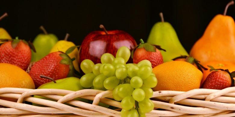 ilustrasi buah.