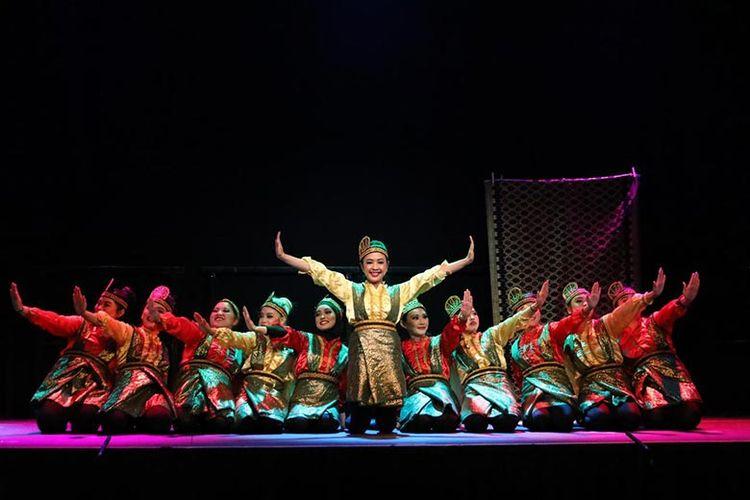Pertunjukan Tari Saman di Retorik Night, Discover Indonesia.