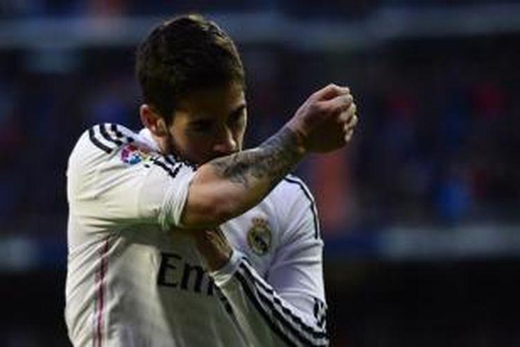 Gelandang Real Madrid, Isco.