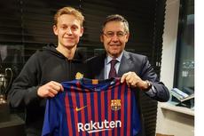 Kulivert Puji Kesuksesan Barcelona Gaet Frenkie De Jong