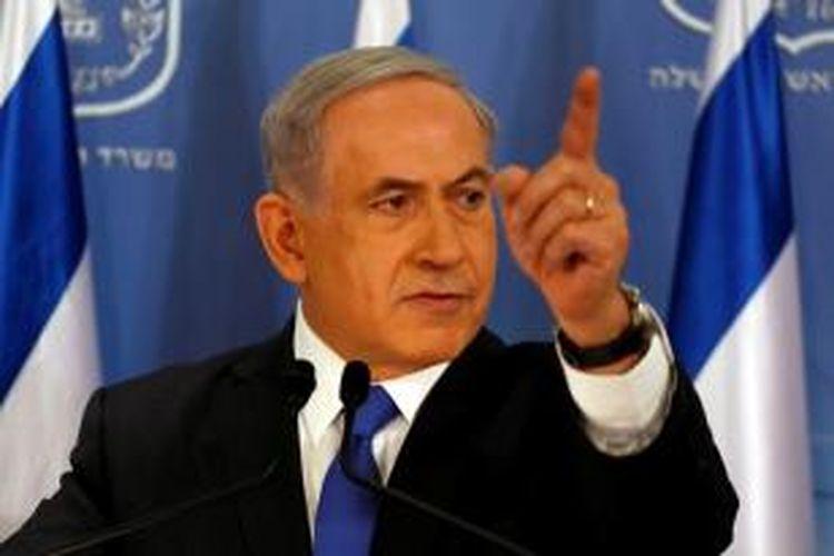 PM Israel Benyamin Netanyahu.