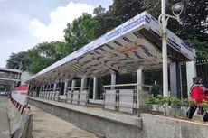 Sudah 57 Persen, Ini Bentuk Halte Baru Transjakarta di Stasiun Palmerah