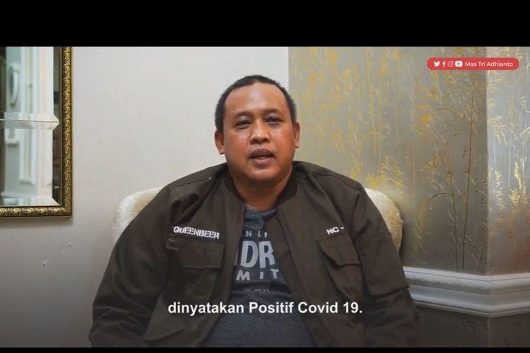 Tangkapan layar pengumiman Wakil Walikota Bekasi Tri Adhianto melalui akun instagramnya apda Kamis (1/7/2021)