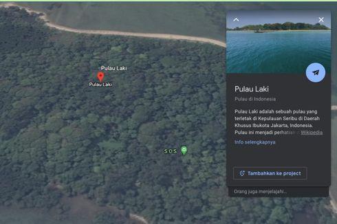 Tanda SOS di Pulau Laki, Basarnas Pastikan Hoax hingga Dihapus Google