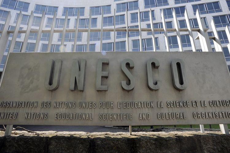 Markas Organisasi Urusan Pendidikan, Keilmuan dan Kebudayaan PBB (UNESCO) di Paris, Perancis.