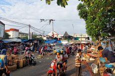 Jelang Lebaran, Satpol PP Kota Tangerang Tertibkan PKL di Pasar Anyar