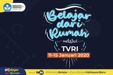 Jadwal Sepekan Belajar dari Rumah TVRI untuk Jenjang PAUD dan SD