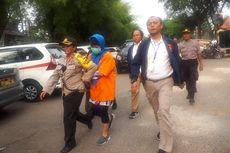 Jalani Rekonstruksi dengan Dua Pembunuh Bayaran, Aulia Kesuma Marah-marah