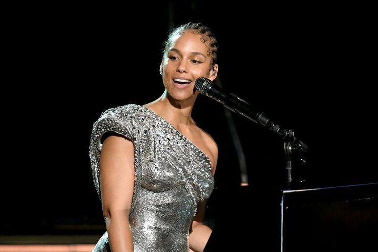 Alicia Keys di acara Grammy Awards 2020.