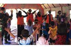 LPT UMM Pulihkan Psikologis Penyintas Gempa Malang dengan Cara ini