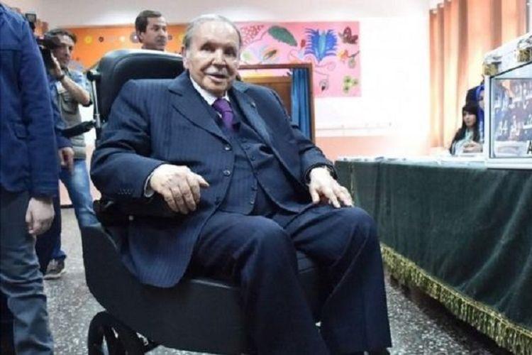 Presiden Aljazair Abdelaziz Bouteflika.