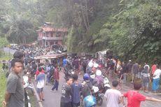 Truk Tabrakan di Jalan Magelang-Purworejo, Seorang Santri Tewas dan Puluhan Luka