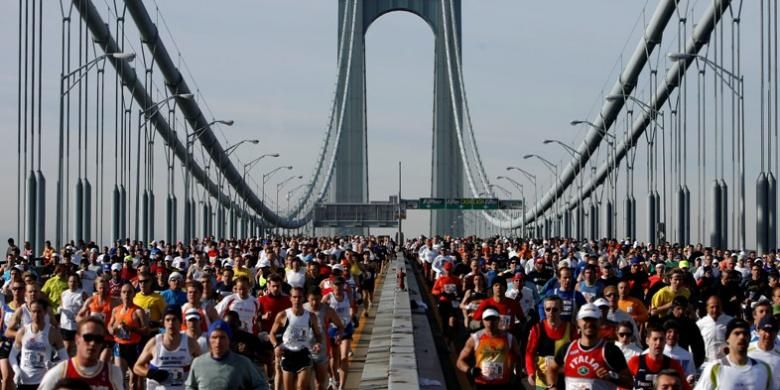 Lomba marathon New York City