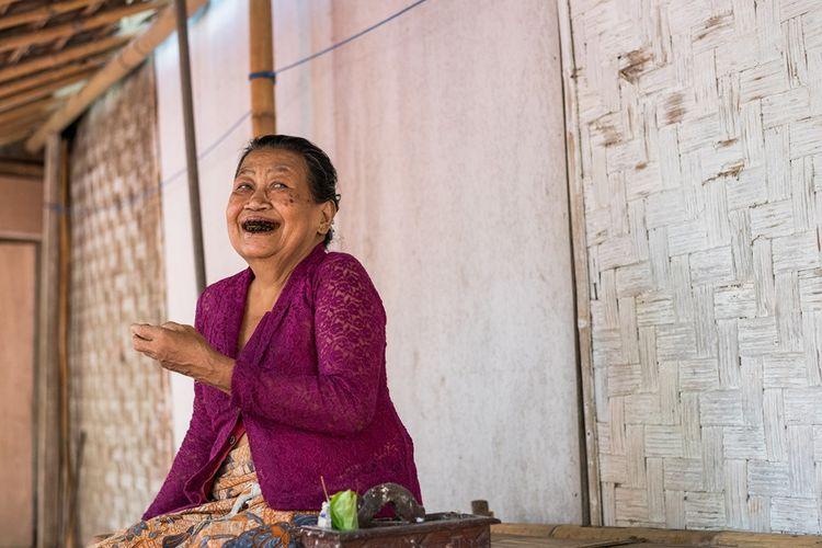 Suku Osing di Desa Kemiren.