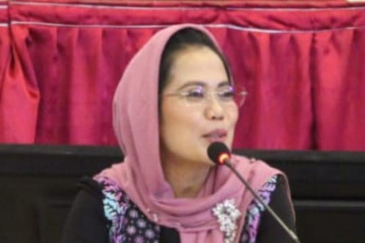 Sekretaris DPD PDI-P Jawa Timur Sri Untari Bisowarno.