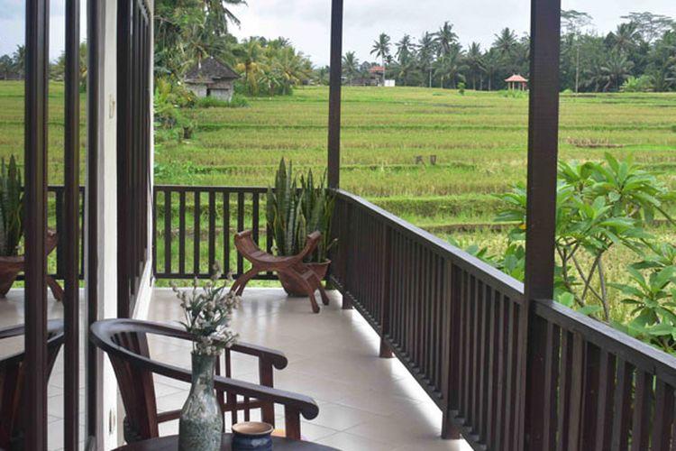 Menginap Di Umah Bali Villa Ubud Wow Senangnya Halaman All Kompas Com