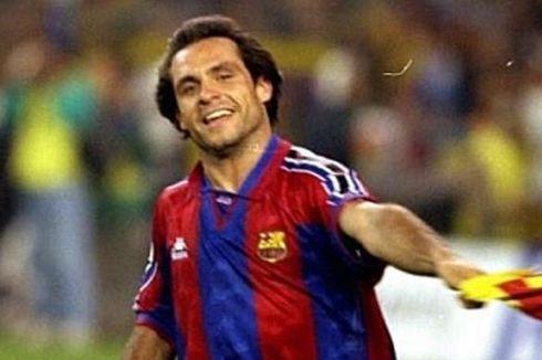 Profil Sergi Barjuan, Nakhoda Sementara Barcelona