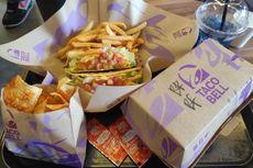 Mencoba Makanan Taco Bell Indonesia, Taco Supreme, Rice Bell, dan Nachos