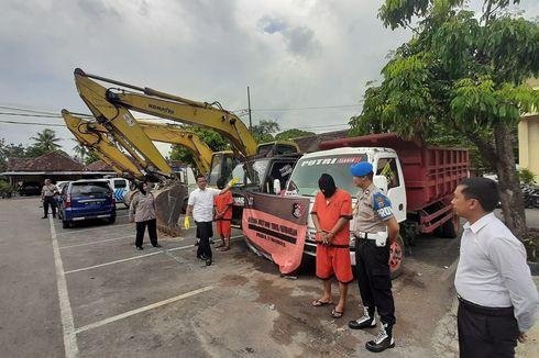 Beroperasi di Wilayah Rawan Longsor di Gunungkidul, 2 Penambang Liar Ditangkap