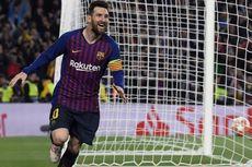 Tendangan Bebas Messi ke Gawang Liverpool Jadi Gol Terbaik Eropa