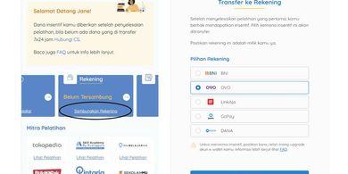 Lolos Prakerja Harus Menautkan Rekening atau E-Wallet, Ini Caranya...