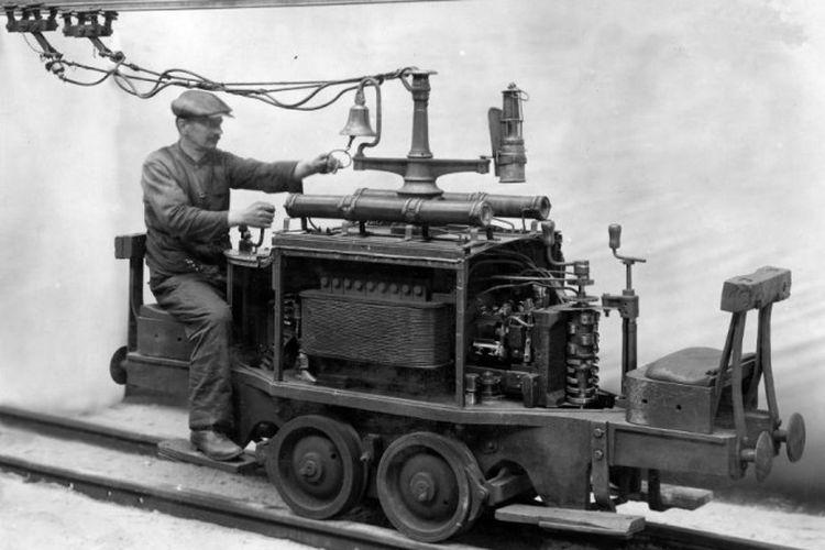 Kereta listrik yang berhasil dikembangkan di Berlin