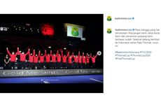 Terima Kasih Tim Thomas Cup, Sudah Berjuang meski Kemenangan Tanpa Kibaran Merah Putih...