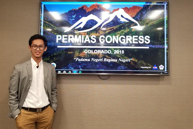 Zafran, mahasiswa yang tergabung dalam PPI Dunia saat ini tengah mengenyam pendidikan Matematika Terapan di Washington State University (WSU).