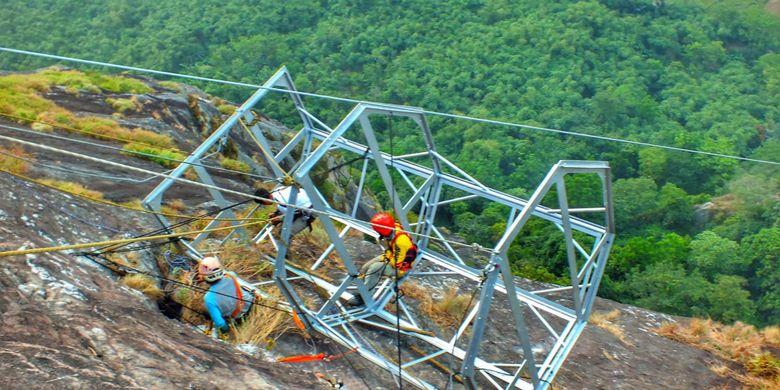 Rancangan Skylounge Pajajaran Anyar di Gunung Parang, Purwakarta.