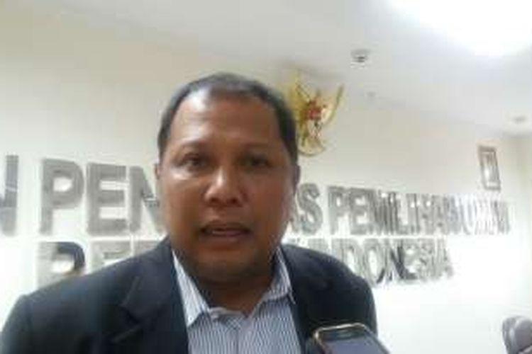 Komisioner Badan Pengawas Pemilu (Bawaslu), Nasrullah di gedung Bawaslu, Jalan MH Thamrin, Jakarta Pusat, Jumat (5/2/2016)